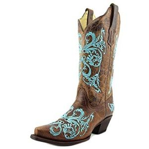 Corral Dahlia embroidered Western cowboy boots 10